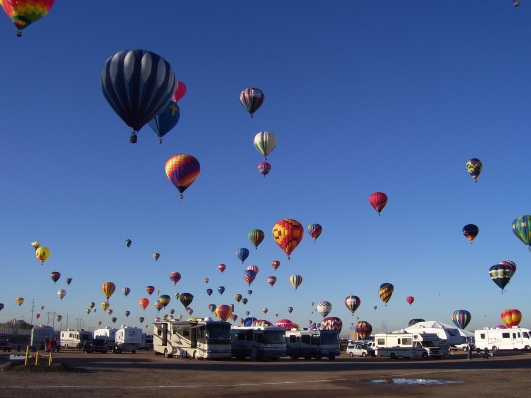 Balloons and RVs