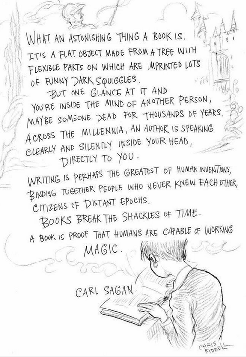 Carl Sagan book quote