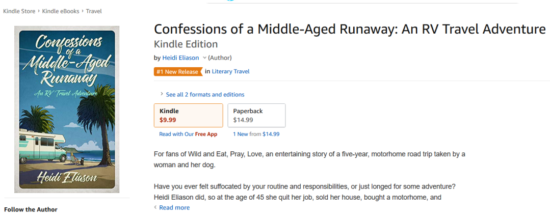 No 1 New Release in Literary Travel