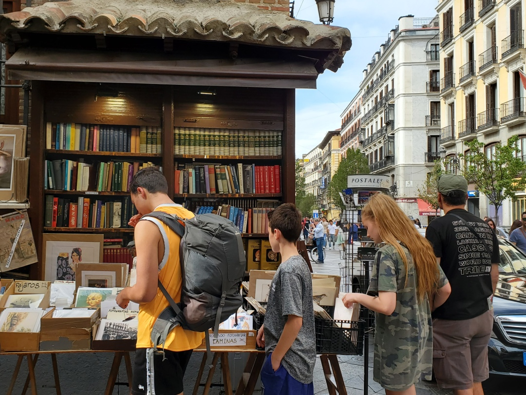 Outdoor Bookstore - Madrid