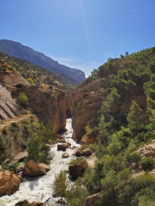 Caminito river closer