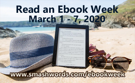 Smashwords ebookweek 3 - e-reader on beach